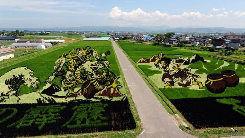 Tambo Art, Seni 'Melukis' di Sawah Asal Negeri Jepang 7