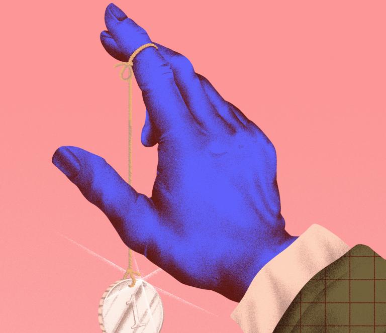 Tangan - Tangan yang Terbuat dari Duit 1