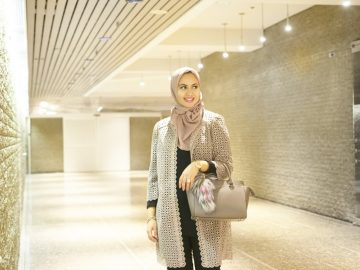 hijab kerja