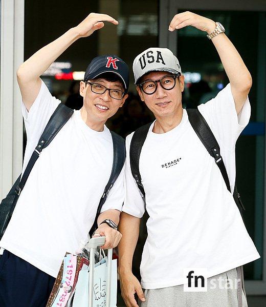 10 Potret Kekompakan Yoo Jae Suk dan Jee Seok Jin, Member Tertua di Running Man 3