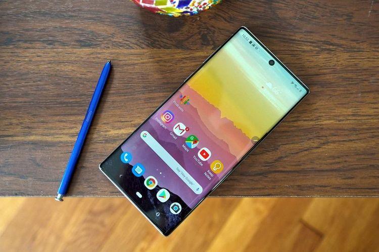 5 Smartphone Terbaru Samsung 2020 Yang Memiliki Tampilan Display Infinity-O 4