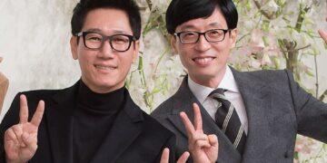 10 Potret Kekompakan Yoo Jae Suk dan Jee Seok Jin, Member Tertua di Running Man 14