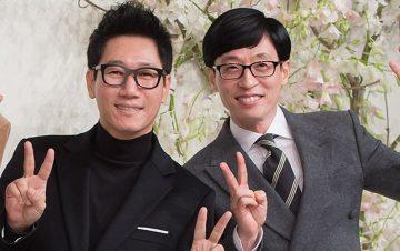 10 Potret Kekompakan Yoo Jae Suk dan Jee Seok Jin, Member Tertua di Running Man 2