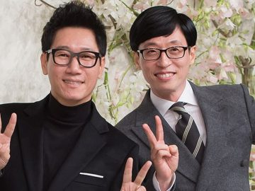 10 Potret Kekompakan Yoo Jae Suk dan Jee Seok Jin, Member Tertua di Running Man 12