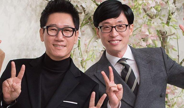 10 Potret Kekompakan Yoo Jae Suk dan Jee Seok Jin, Member Tertua di Running Man