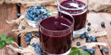 jus blueberry