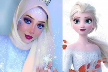 13 Gaya Hijab Ala Putri Disney, Cantik Abis! 1