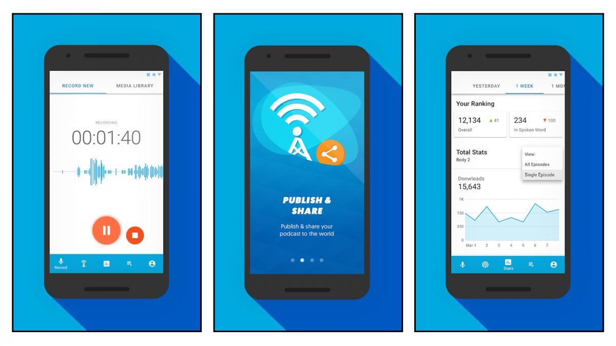 3 Aplikasi Pembuat Podcast Termudah dengan Android 5