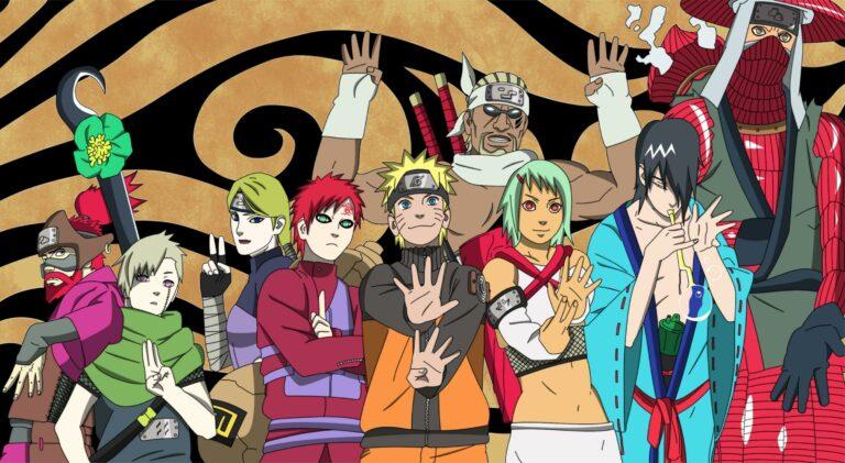 10 Jinchuriki Terkuat di Anime Naruto 1