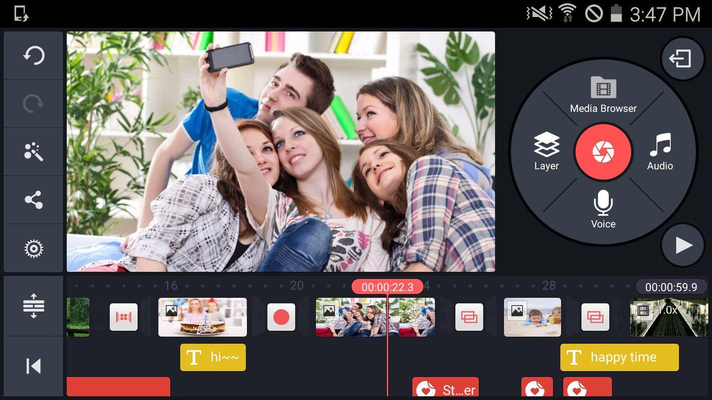 10 Aplikasi Editing Video Terbaik untuk Android 4