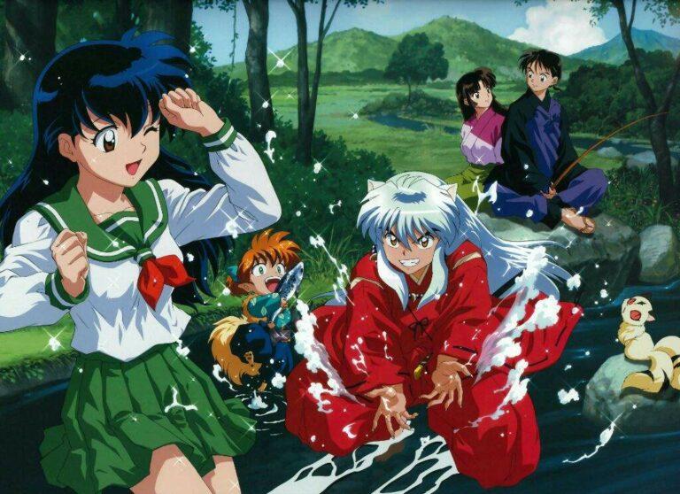 Karakter Utama dalam Anime Inuyasha 1