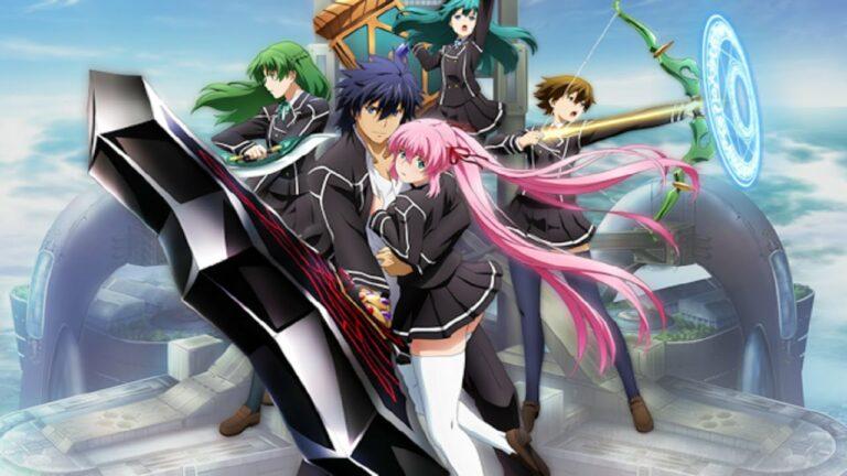 10 Anime Terbaik Bertema Sekolah Sihir 1