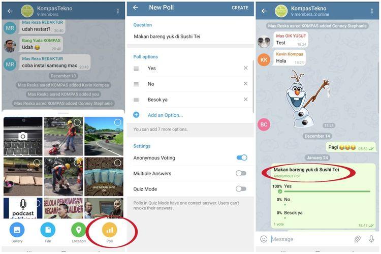 5 Fitur Unggulan Telegram yang Tidak Dimiliki WhatsApp 7