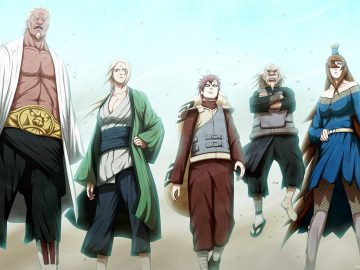 5 Kage Terkuat di Perang Dunia Ninja Keempat 6