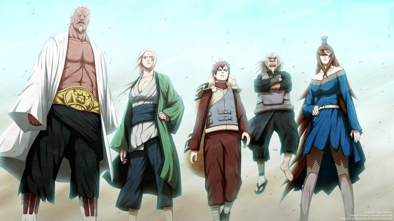 5 Kage Terkuat di Perang Dunia Ninja Keempat 1
