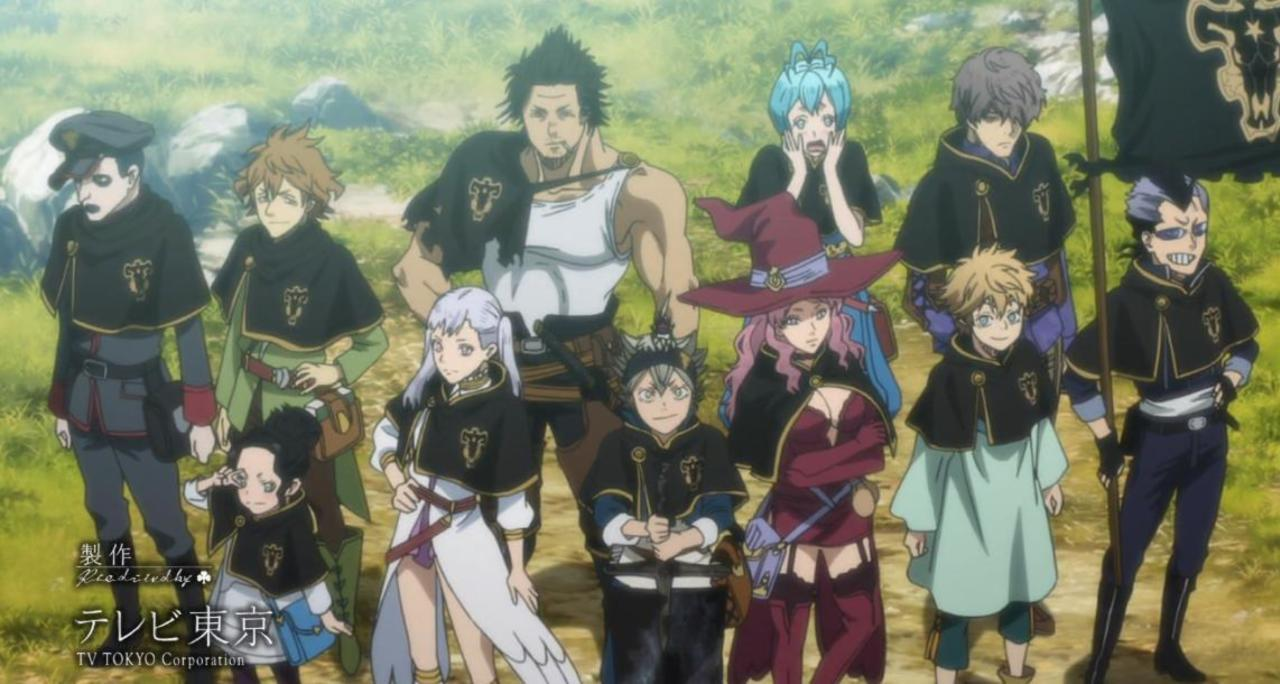 5 Pasukan Ksatria Sihir Terbaik Di Black Clover 4