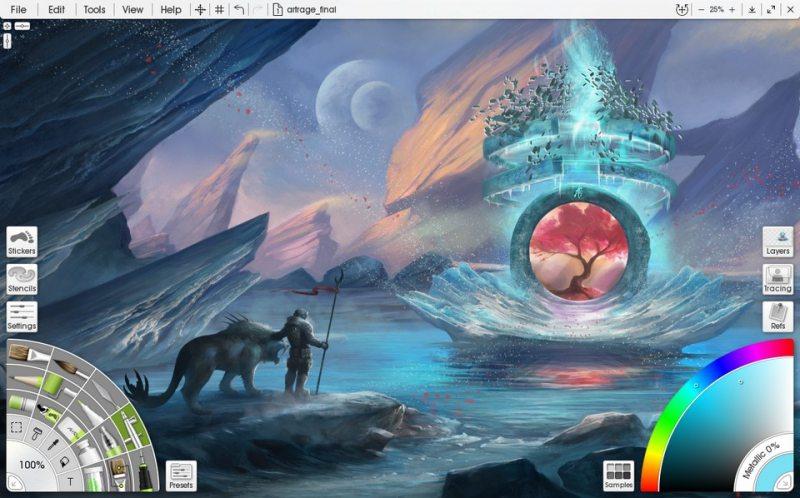 5 Aplikasi Menggambar Terbaik untuk iPad 3