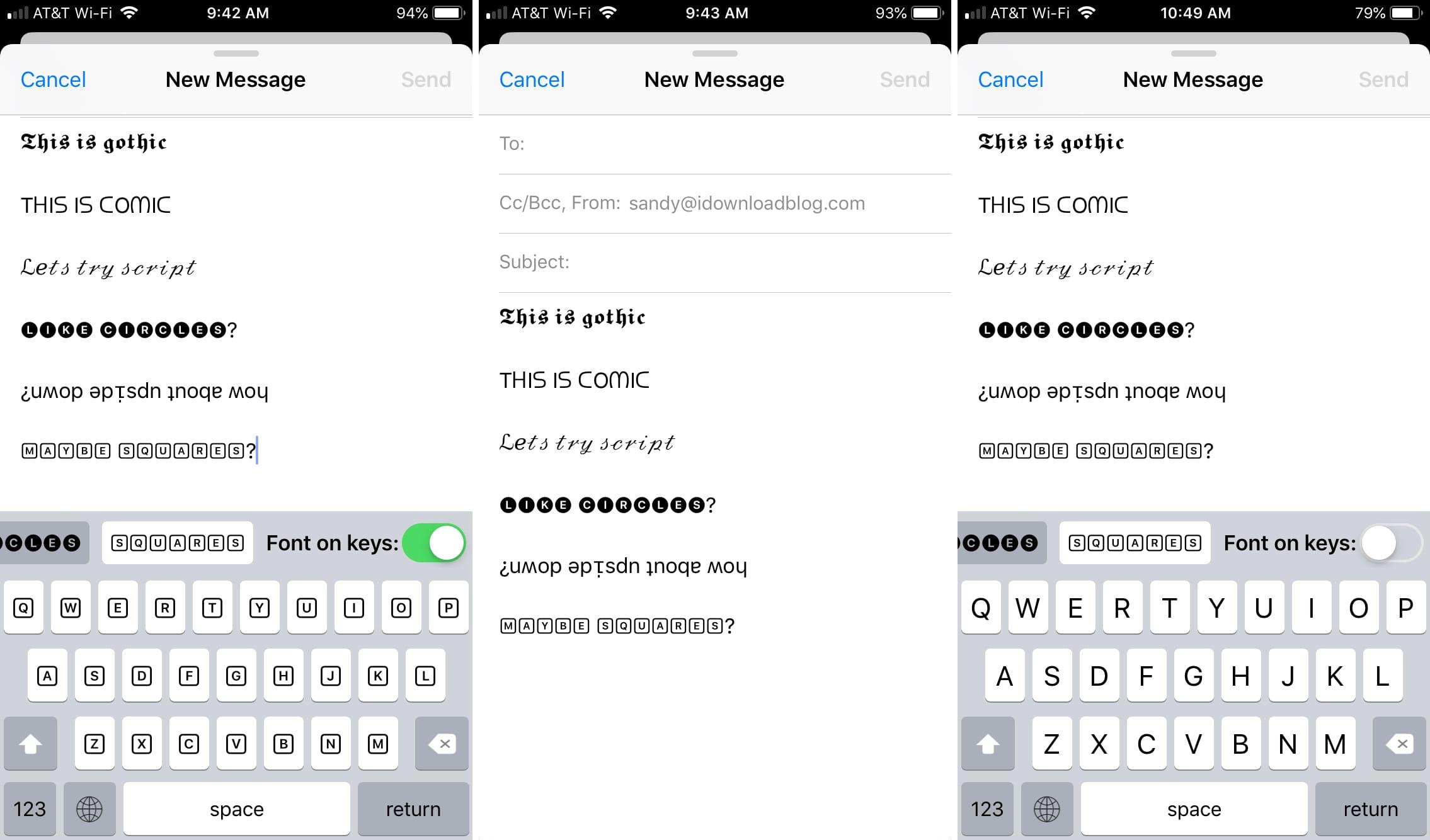 7 Aplikasi Pengubah Font Terbaik untuk Android 3