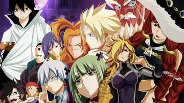 12 Anggota Spriggan Terkuat di Anime Fairy Tail 2