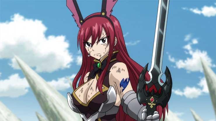 10 Penyihir Wanita Terkuat di Anime Fairy Tail 9