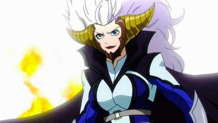 5 Bentuk Jiwa Setan Mirajane Strauss di Anime Fairy Tail 5