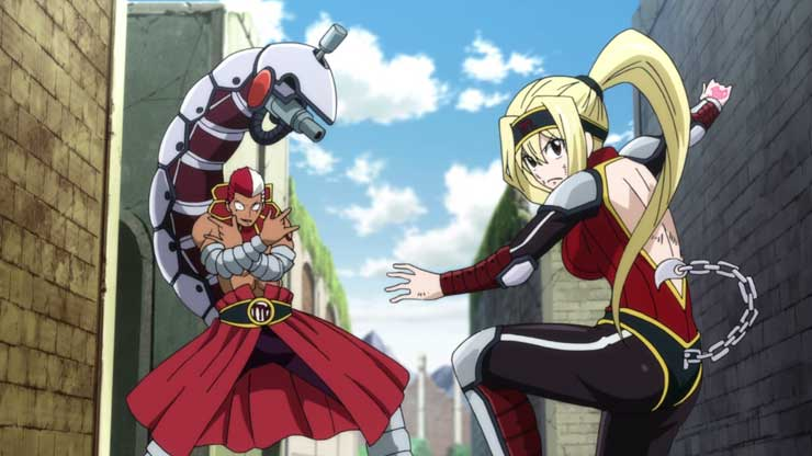 10 Bentuk Gaun Lucy Heartfilia di Anime Fairy Tail 10