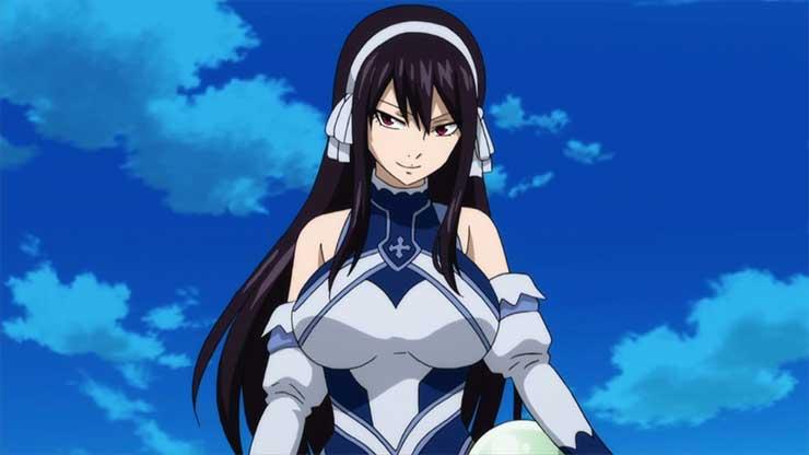 10 Penyihir Wanita Terkuat di Anime Fairy Tail 5