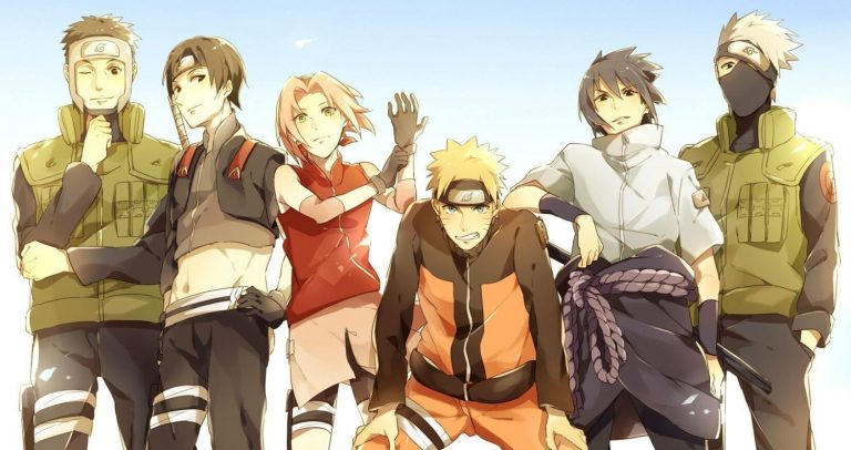 Daftar Anggota Tim 7 Terhebat di Anime Naruto 1