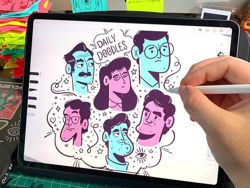 5 Aplikasi Menggambar Terbaik untuk iPad 5