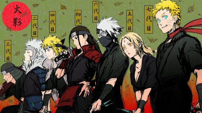 Daftar Lengkap Hokage Dari Hashirama Hingga Naruto 1