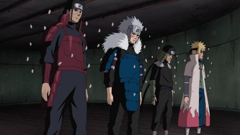 10 Shinobi Edo Tensei Terkuat di Anime Naruto 1