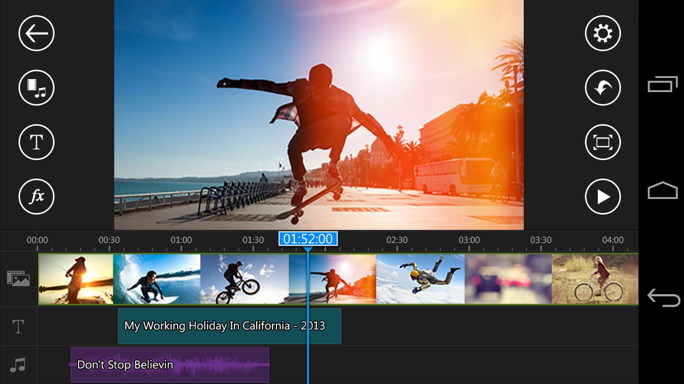 10 Aplikasi Editing Video Terbaik untuk Android 5