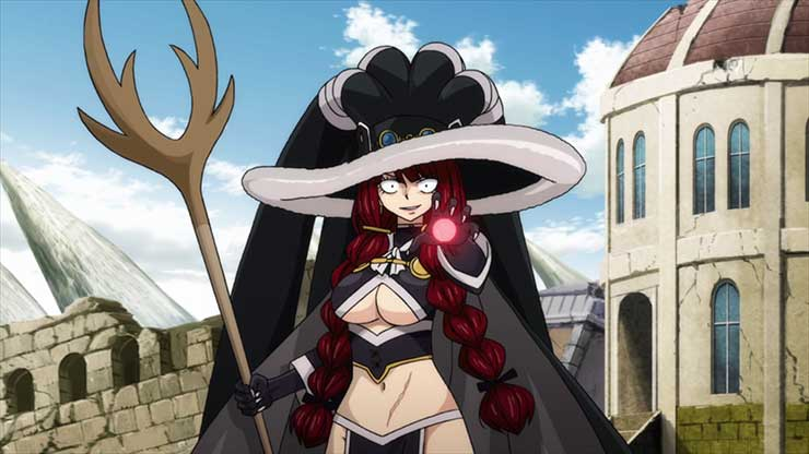 12 Anggota Spriggan Terkuat di Anime Fairy Tail 13