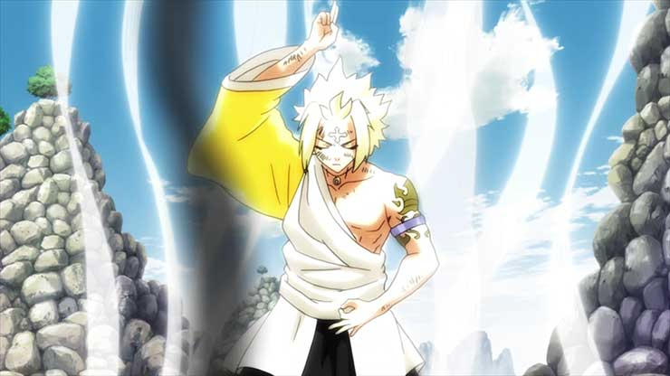 12 Anggota Spriggan Terkuat di Anime Fairy Tail 12