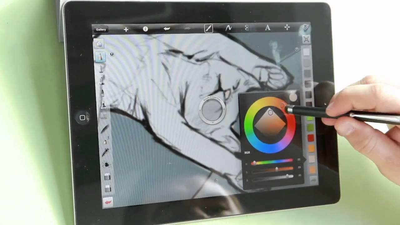 5 Aplikasi Menggambar Terbaik untuk iPad 6