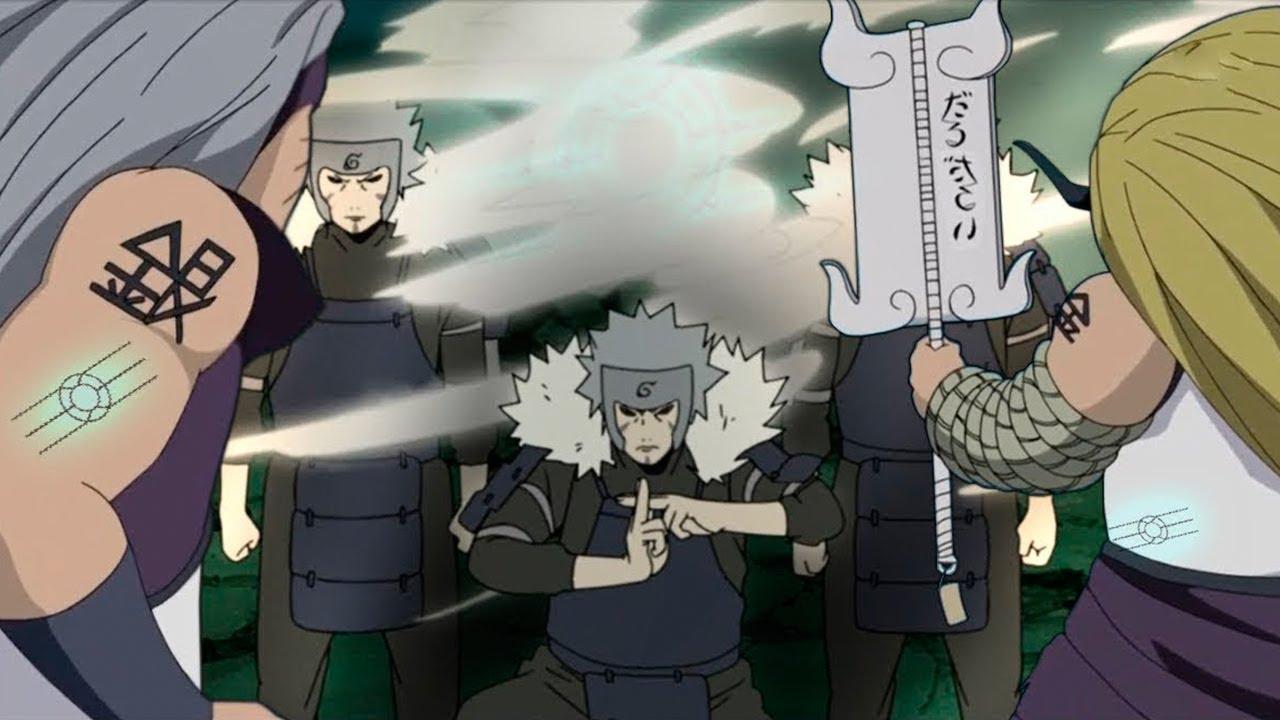 5 Pertempuran Hebat yang Tak Ditampilkan di Anime Naruto 3
