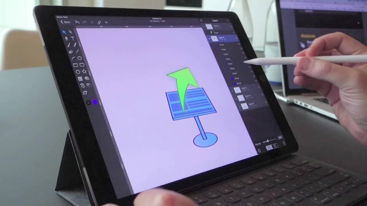 5 Aplikasi Menggambar Terbaik untuk iPad 7