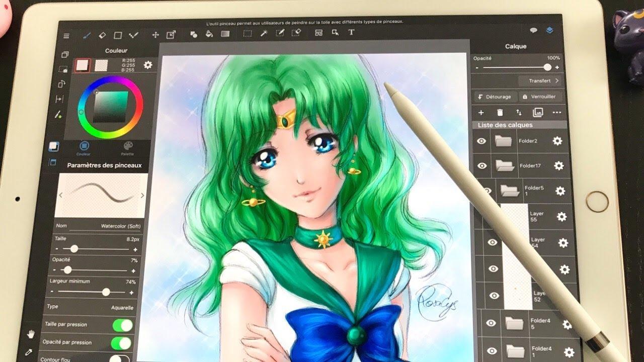 5 Aplikasi Menggambar Terbaik untuk iPad 4