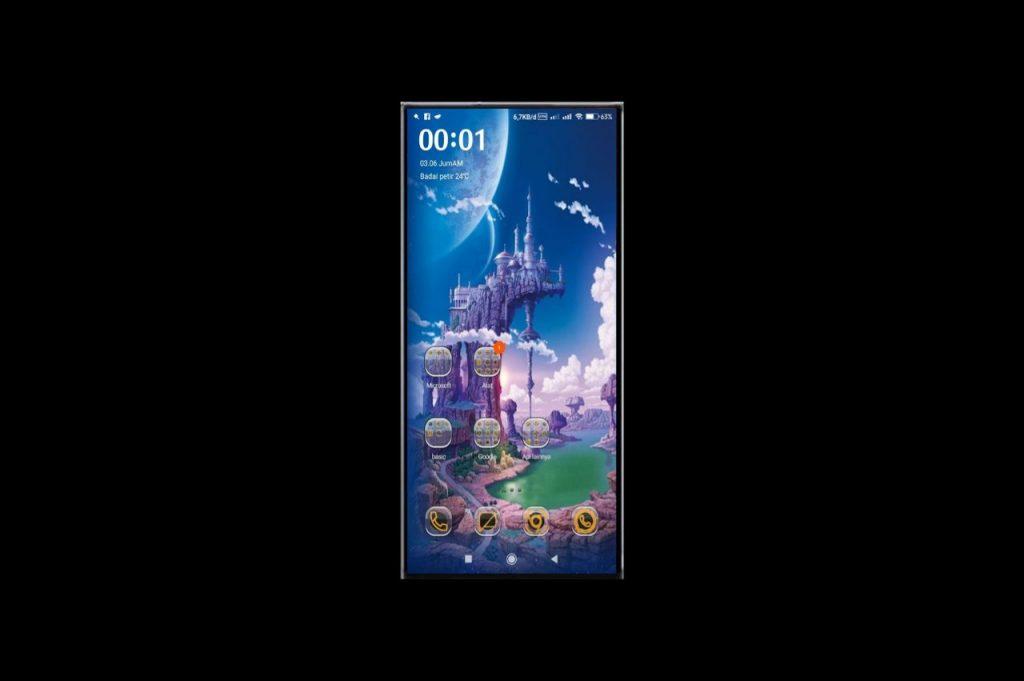 Tema Xiaomi MIUI 11 Dragon Ball