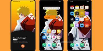 5 Rekomendasi Tema Xiaomi Anime Tembus Banyak Aplikasi Untuk MIUI 11 19
