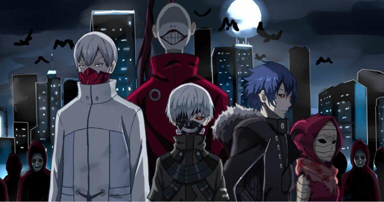 7 Organisasi Ghoul Kuat Yang Ada di Anime Tokyo Ghoul 1