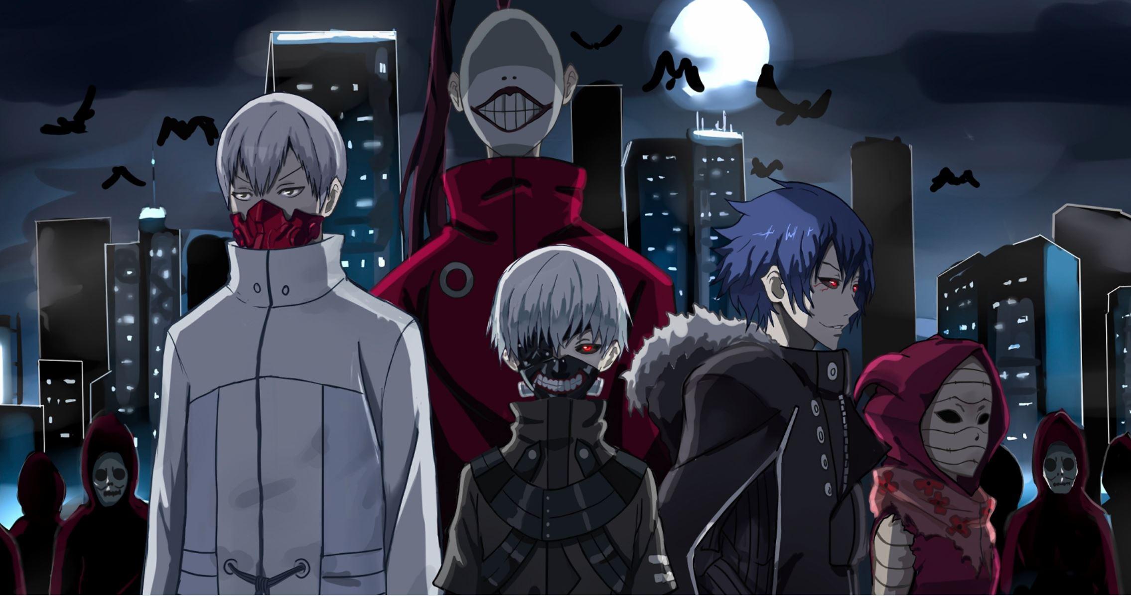 7 Organisasi Ghoul Kuat Yang Ada di Anime Tokyo Ghoul 5