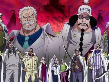 13 Marinir Terkuat di Anime One Piece 12