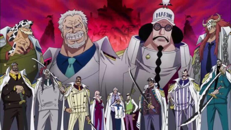 13 Marinir Terkuat di Anime One Piece 1