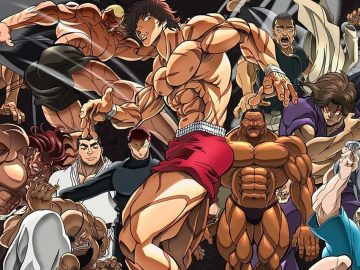 5 Karakter Terkuat di Anime Baki 20
