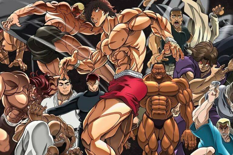 5 Karakter Terkuat di Anime Baki 1