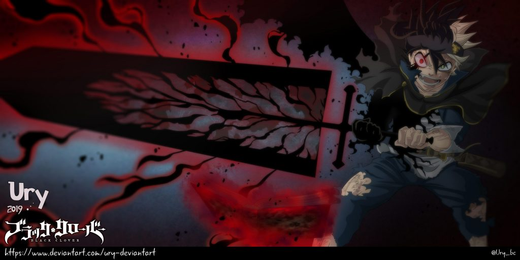 7 Teknik Sihir Iblis Milik Asta Di Black Clover 9