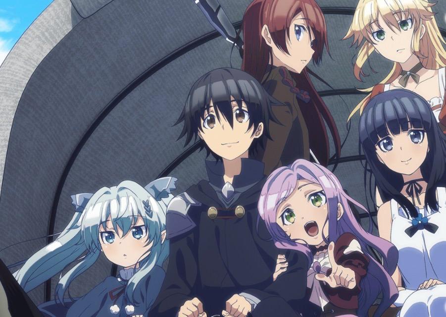5 Serial Anime Harem Tanpa Unsur Ecchi Terbaik 6