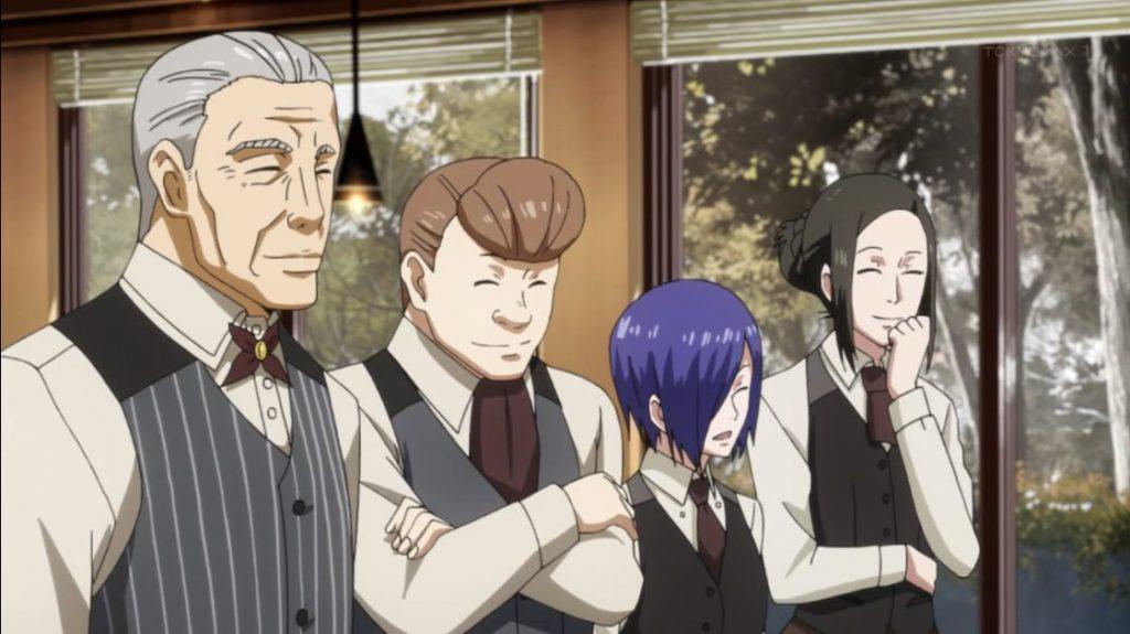 7 Organisasi Ghoul Kuat Yang Ada di Anime Tokyo Ghoul 4