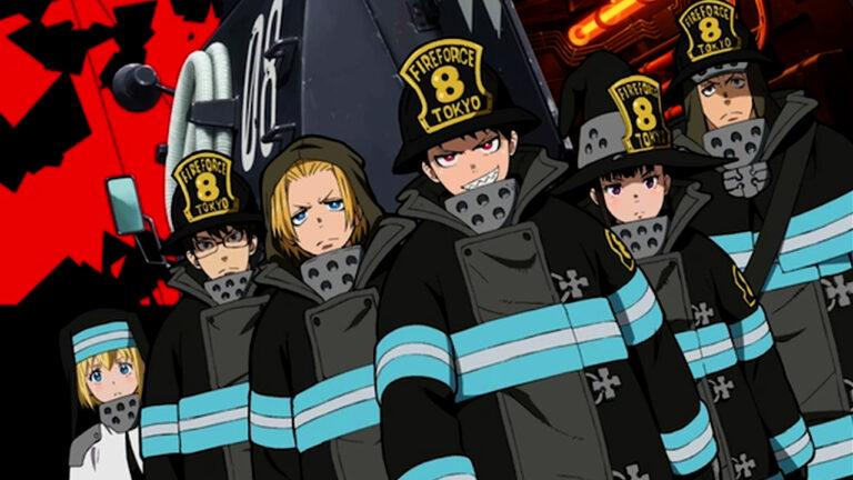 5 Pilar Terkuat di Anime Fire Force 1